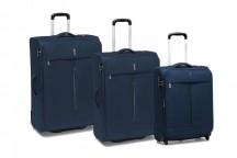 Roncato Ironik Komplet 3 walizek granatowych