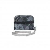 Pacsafe RFIDsafe V50 Portfel męski szary kamuflaż