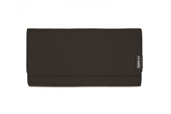 Pacsafe RFIDsafe LX200 Portfel damski czarny