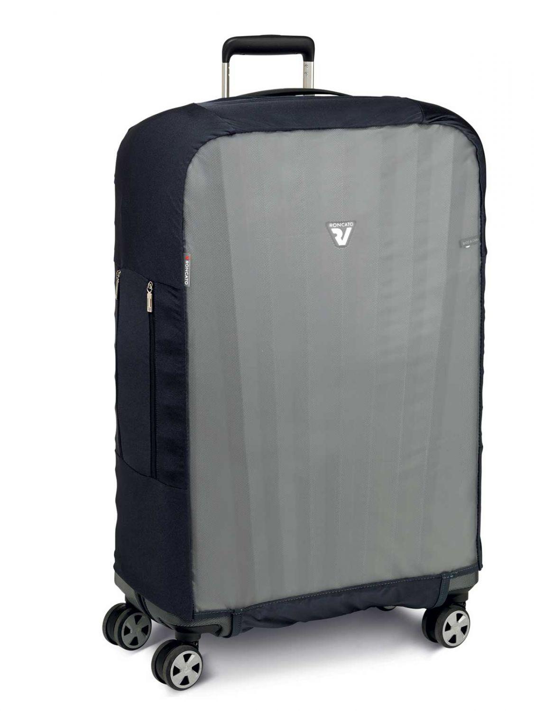 771641de6090a Roncato Accessories Pokrowiec zabezpieczający na walizkę dużą  bezbarwny/czarny ...