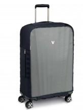 Roncato Accessories Pokrowiec zabezpieczający na walizkę średnią bezbarwny/czarny