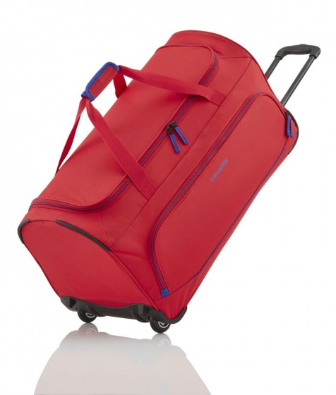 Travelite Basics Torba podróżna na kółkach czerwona
