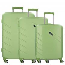 Travelite Tourer Komplet 3 walizek zielonych