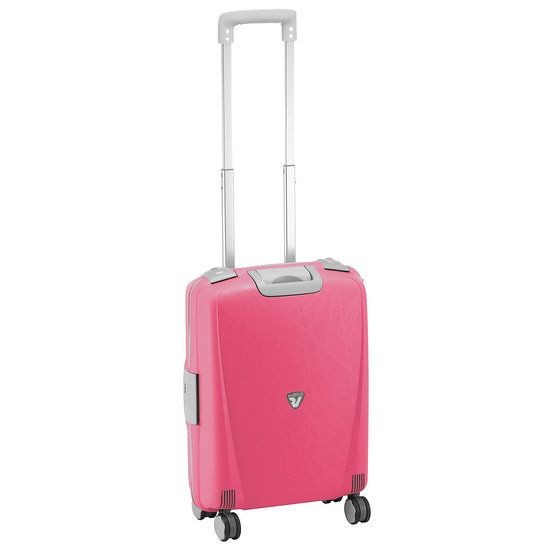 Roncato Light walizka mała kabinowa fuksja
