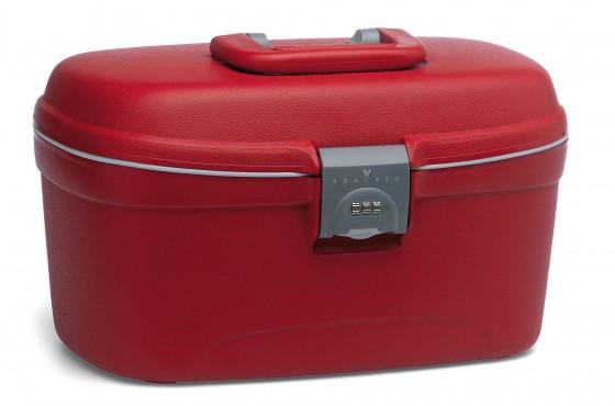 Roncato Beauty Kuferek podróżny kosmetyczka czerwony
