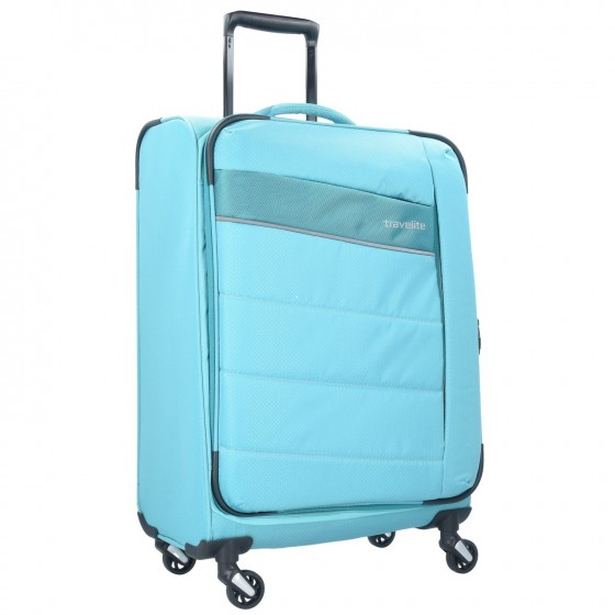 Travelite Kite Walizka średnia błękitna