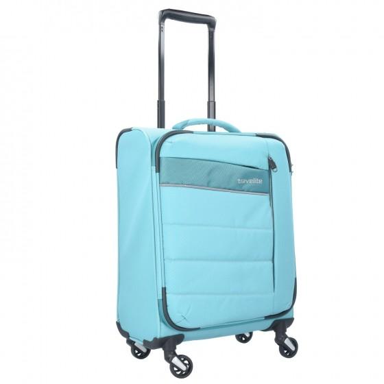 Travelite Kite Walizka mała błękitna