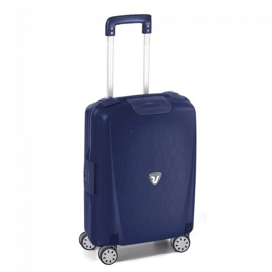 Roncato Light walizka mała kabinowa granatowa