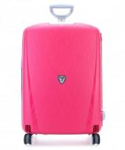 Roncato Light walizka duża wiśniowa