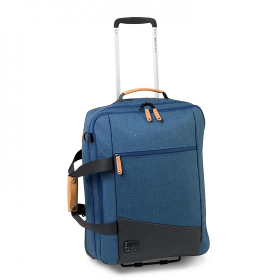 Roncato Adventure Torba podróżna na kółkach niebieska