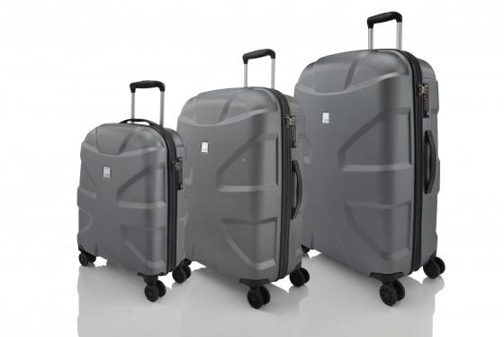 Titan X2 Shark Skin Komplet 3 walizek antracytowych
