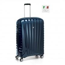 Roncato Uno ZSL PREMIUM Carbon Edition  Walizka duża niebieska