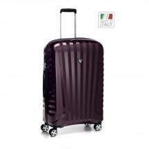 Roncato Uno ZSL PREMIUM Carbon Edition  Walizka średnia czerwona