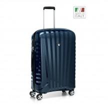 Roncato Uno ZSL PREMIUM Carbon Edition  Walizka średnia niebieska
