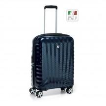 Roncato Uno ZSL PREMIUM Carbon Edition  Walizka mała niebieska