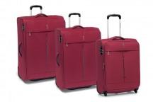 Roncato Ironik Komplet 3 walizek czerwonych