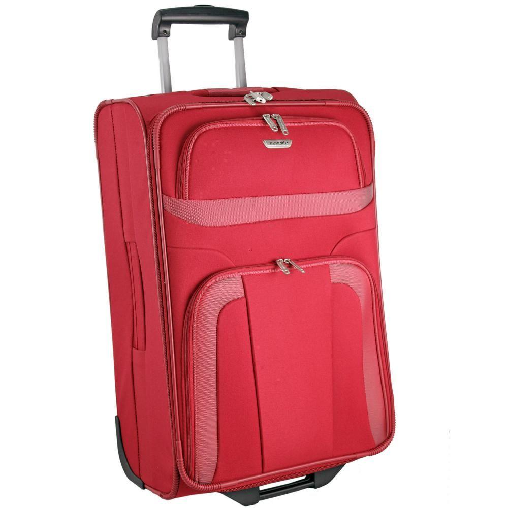 c55e546413920 Walizka duża Travelite z kolekcji Orlando, poliester, 2 kółka ...