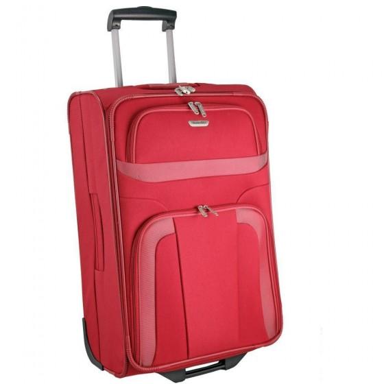 Travelite Orlando walizka średnia czerwona