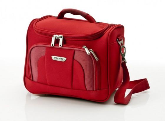 Travelite Orlando Kuferek podróżny kosmetyczka czerwony