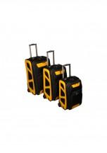 Vip Collection Monte Carlo Komplet 3 walizek czarnych
