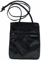 Roncato Accessories Sekretny portfel na szyję czarny