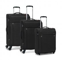 Roncato Zero Gravity Komplet 3 walizek czarny