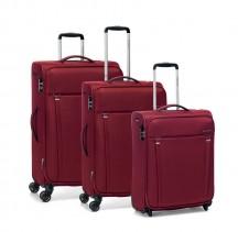 Roncato Zero Gravity Komplet 3 walizek czerwony
