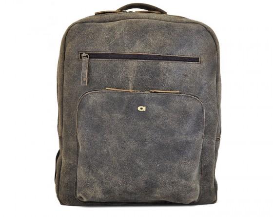 Plecak skórzany z miejscem na notebook/tablet marki Daag z kolekcji Jazzy Risk - kolor brązowy