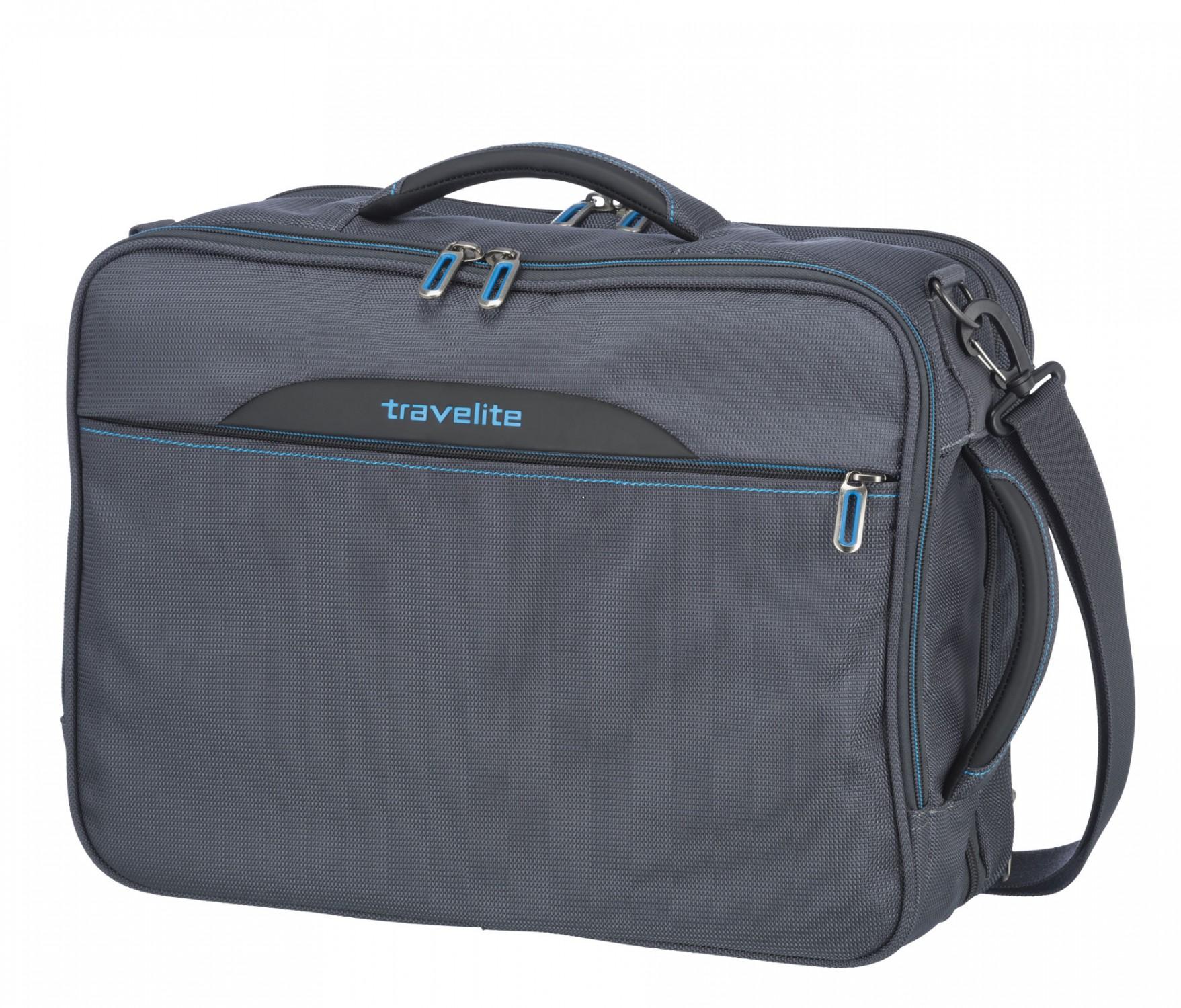 c4afed685b2cc ... Travelite CrossLITE Torba podręczna plecak antracytowa