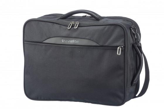 Travelite CrossLITE Torba podręczna plecak czarna