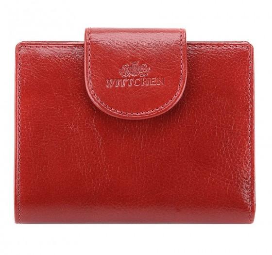 Wittchen Italy Portfel damski czerwony