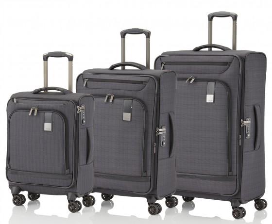 Titan Ceo Komplet 3 walizek czarnych