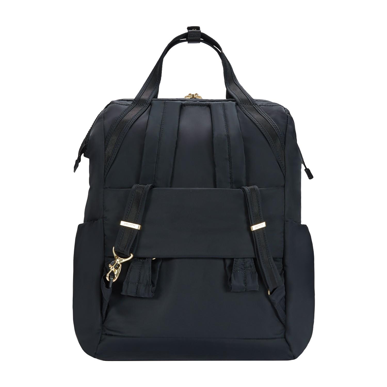 815ec8ca92b87 ... Pacsafe Citysafe CX backpack Torebka - Plecak damski bordowy ...