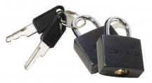 Travelite Accessories Kłódki kluczyk 2 szt. czarne