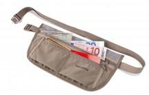 Travelite Accessories Sekretny portfel na pas beżowy