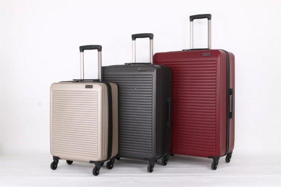 Travelite Tecno Komplet 3 walizek czerwonych