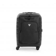 Roncato D-Box Zestaw walizka mała i torba na laptopa czarna