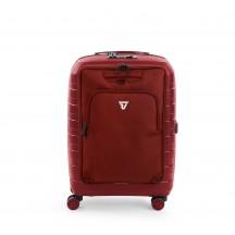 Roncato D-Box Zestaw walizka mała i torba na laptopa czerwona