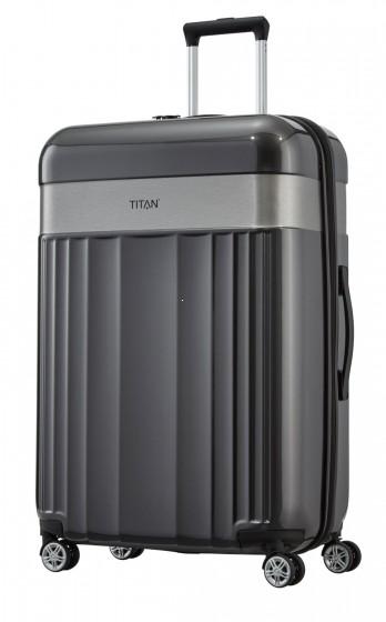 Titan Spotlight Walizka duża antracytowa