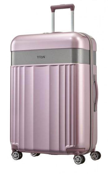Titan Spotlight Walizka duża różowa