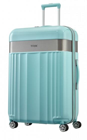 Titan Spotlight Walizka duża turkusowa