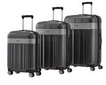 Titan Spotlight Komplet 3 walizek antracytowych