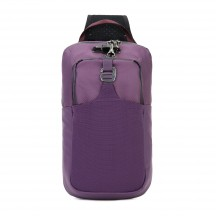 Pacsafe Venturesafe X sling pack Plecak na jedno ramię jagodowy