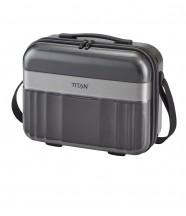 Titan Spotlight Kuferek podróżny kosmetyczka antracytowa