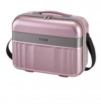 Titan Spotlight Kuferek podróżny kosmetyczka różowa
