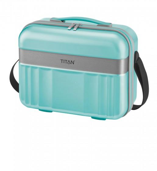 Titan Spotlight Kuferek podróżny kosmetyczka turkusowa