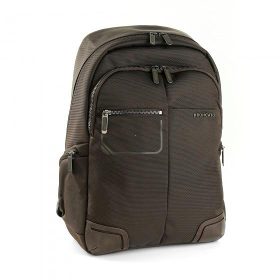 Roncato Wall Street Plecak biznesowy brązowy