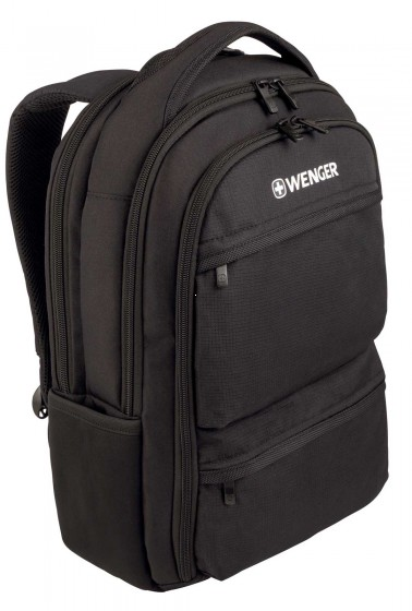 Wenger Plecak biznesowy Fuse czarny