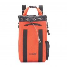 Pacsafe Dry Portable safe 15L Plecak - sejf podróżny pomarańczowy