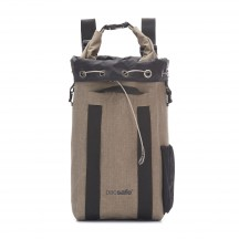 Pacsafe Dry Portable safe 15L Plecak - sejf podróżny beżowy